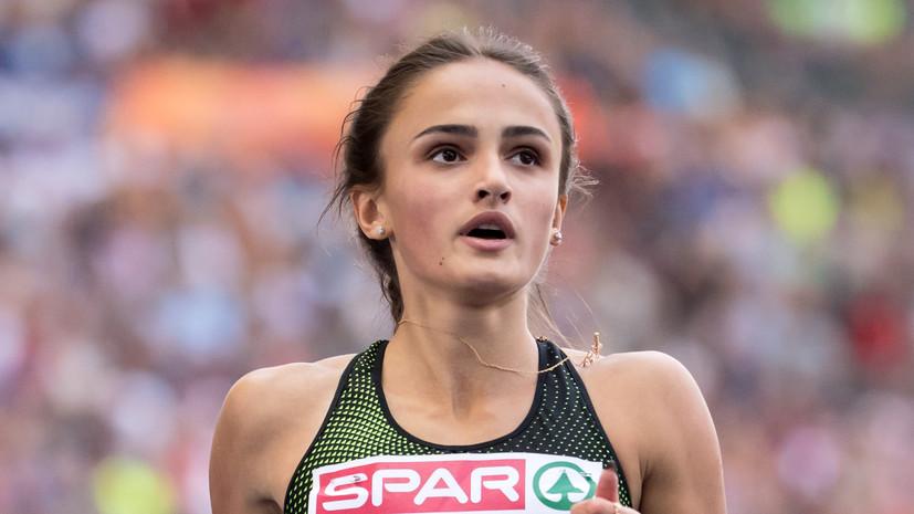 Российская легкоатлетка Миллер: ни разу не выступала на международных стартах под флагом России