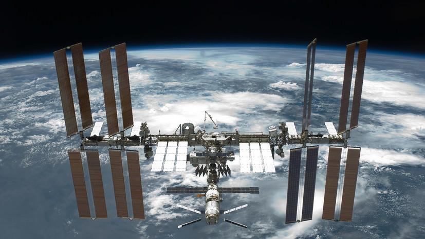 Космонавты Олег Артемьев и Сергей Прокопьев, прибывшие на МКС в