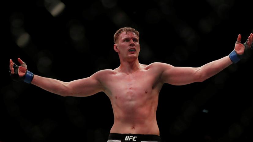 Боец MMA Харитонов: надеюсь, Волков победит Льюиса и получит право сразиться за звание чемпиона UFC