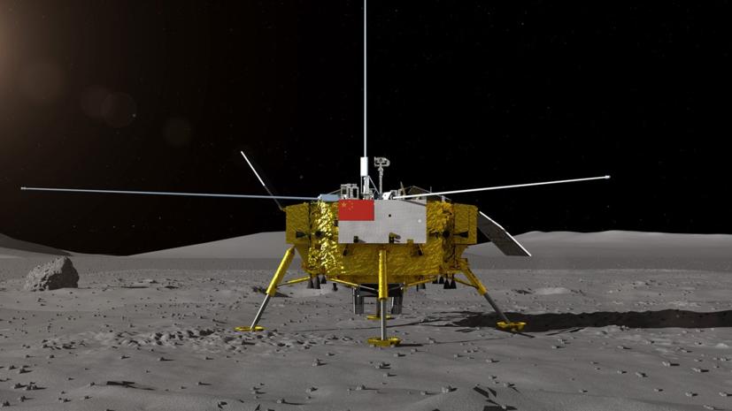 В Китае представили аппарат, предназначенный для изучения обратной стороны Луны.