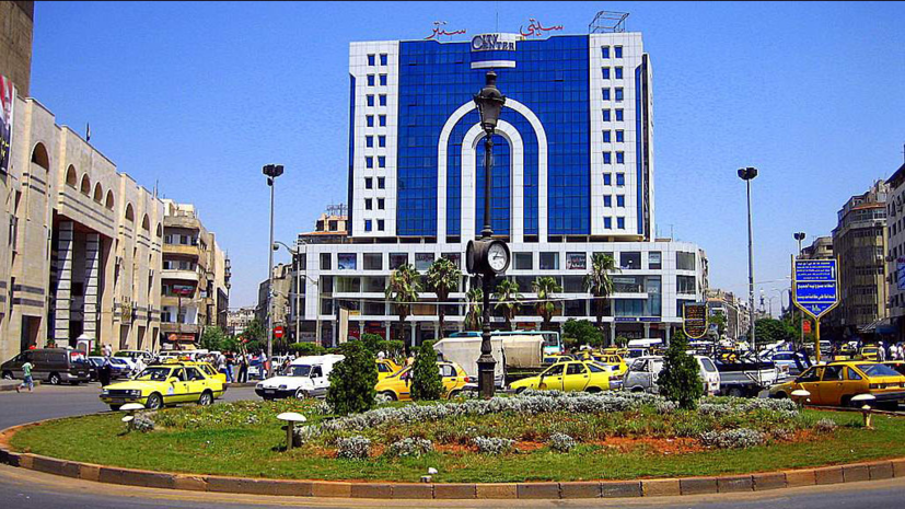 Реставрация исторического центра сирийского города Хомс, который был разрушен боевиками,