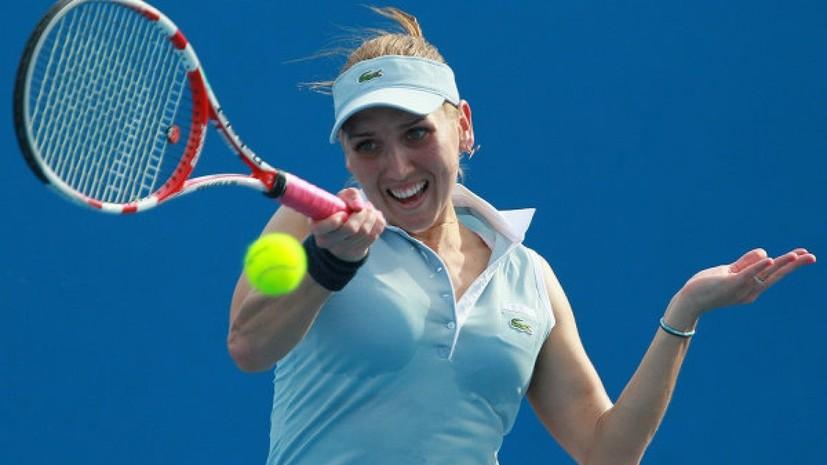 Российская теннисистка Веснина пропустит US Open из-за травмы