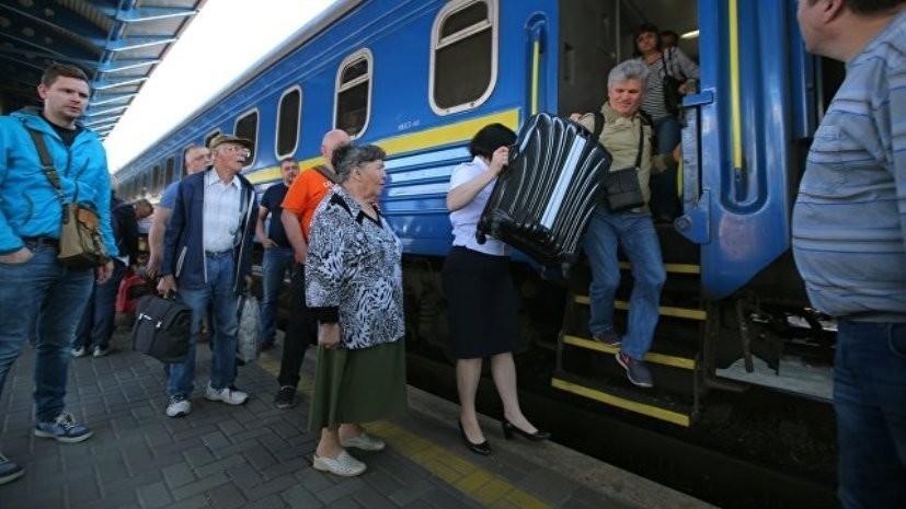 На Украине готовы ввести безостановочный транзит поездов из Молдавии в Россию