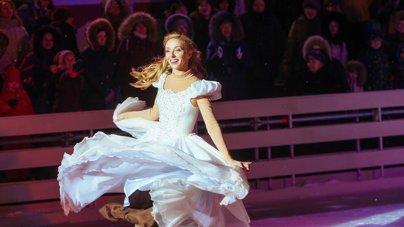 Навка прокомментировала аннулирование своих мировых рекордов в фигурном катании