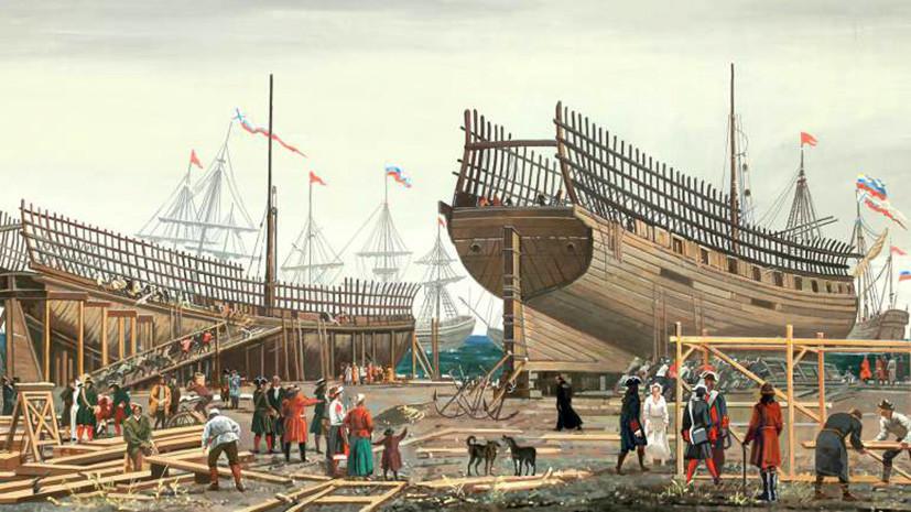«Впервые корабли строились на море»: какую роль сыграл Архангельск в развитии российского флота