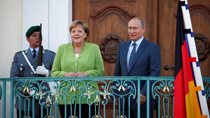 «Северный поток-2» является финансовым проектом— Путин