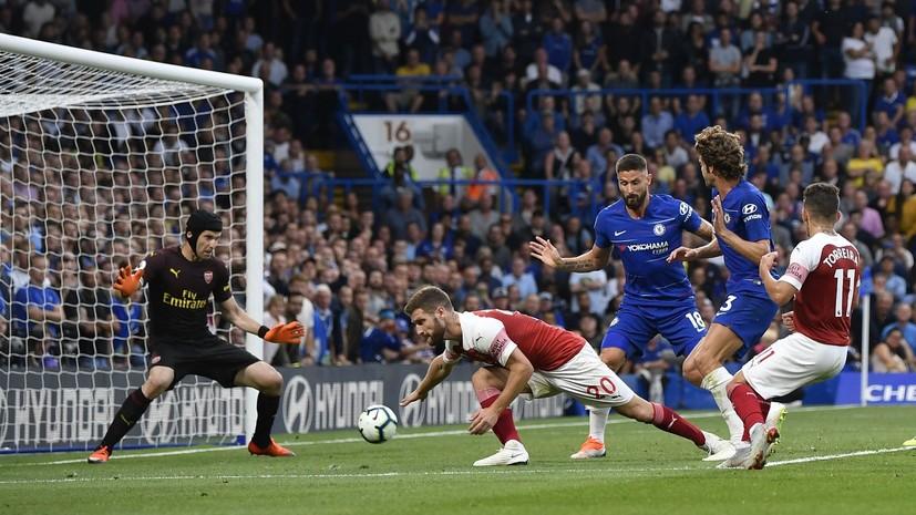 Лондонский «Челси» одержал победу над другим клубом из столицы Великобритании