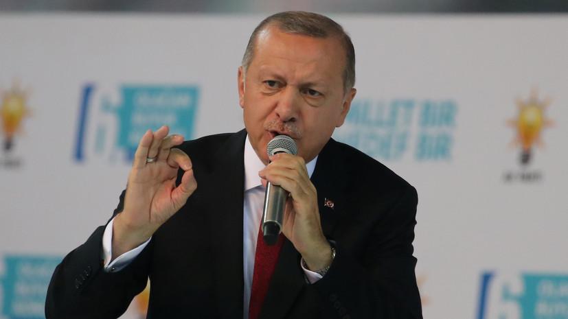 Эрдоган: Турция готова к строительству канала«Стамбул»