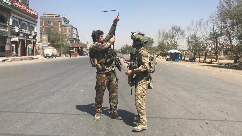 В столице Афганистана произошёл взрыв