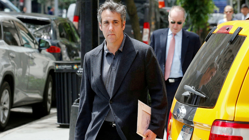 Прежнего  юриста  Трампа Майкла Коэна взяли под стражу
