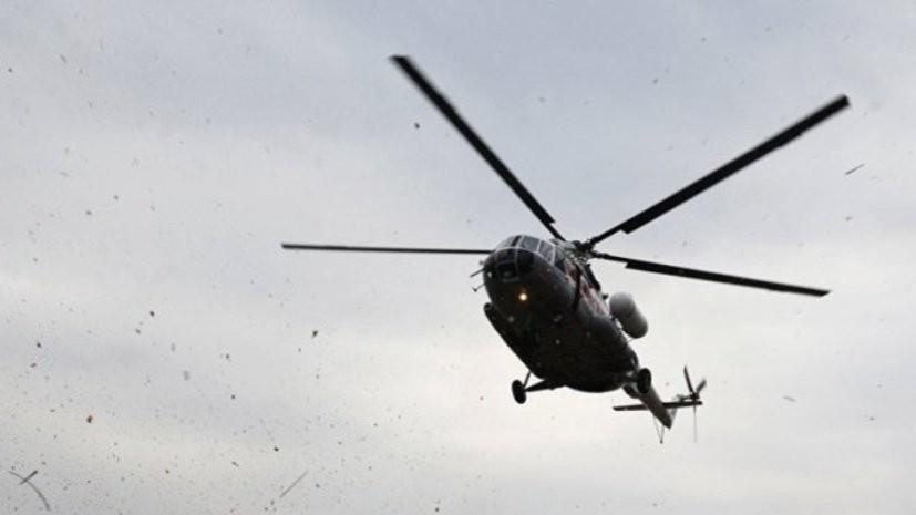 Вертолёт Ми-8 совершил жёсткую посадку в Челябинской области