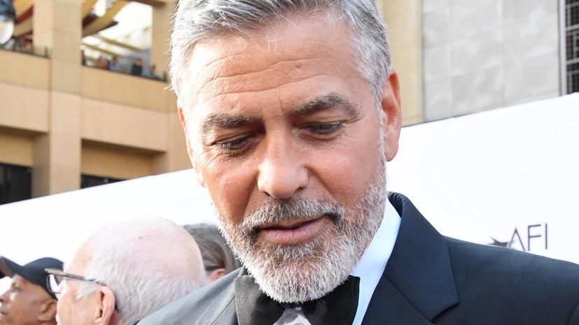 Журнал Forbes назвал Джорджа Клуни самым высокооплачиваемым актёром 2018 года