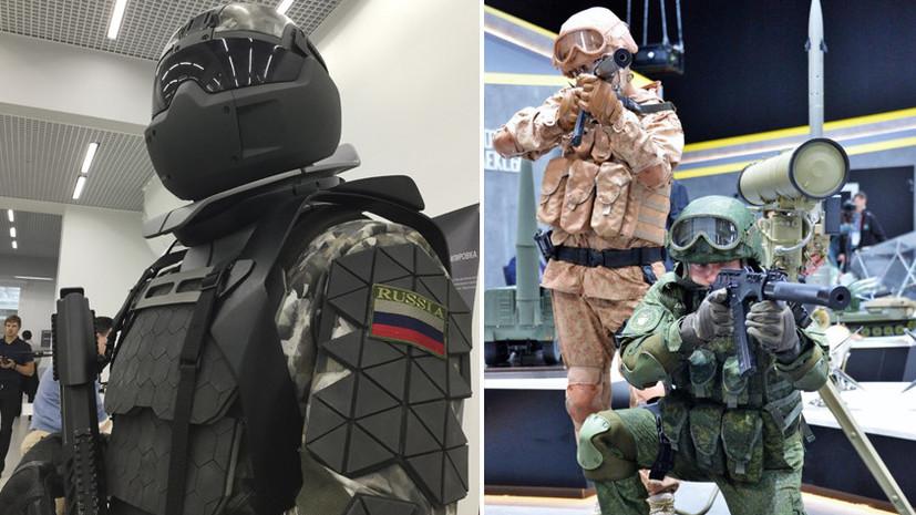 Опора «Ратника»: как экзоскелет расширит возможности российских военнослужащих