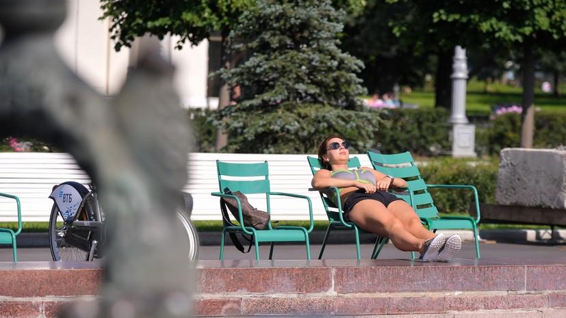 Синоптики пообещали по-настоящему летнюю погоду в конце августа в Москве