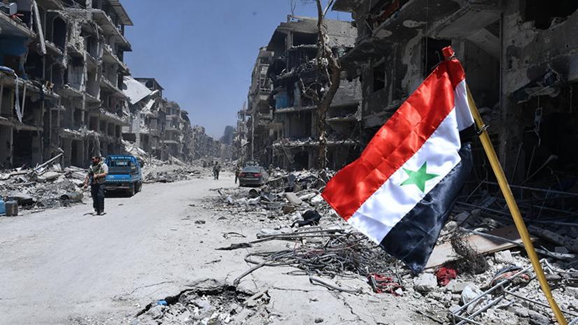 Боевики устроили атаку дронов напозиции сирийской армии вХаме