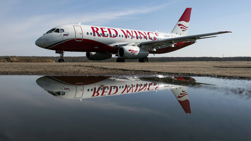 В Росавиации назвали причину возгорания двигателя летевшего из Уфы самолёта