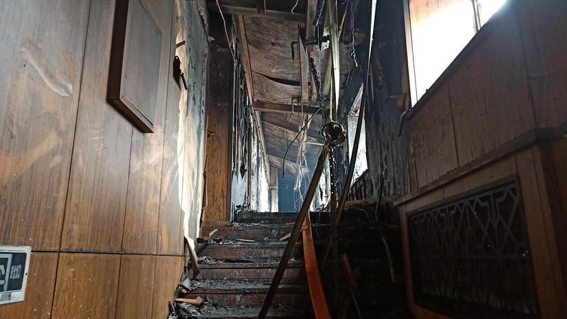 18 человек погибли впожаре вХарбине