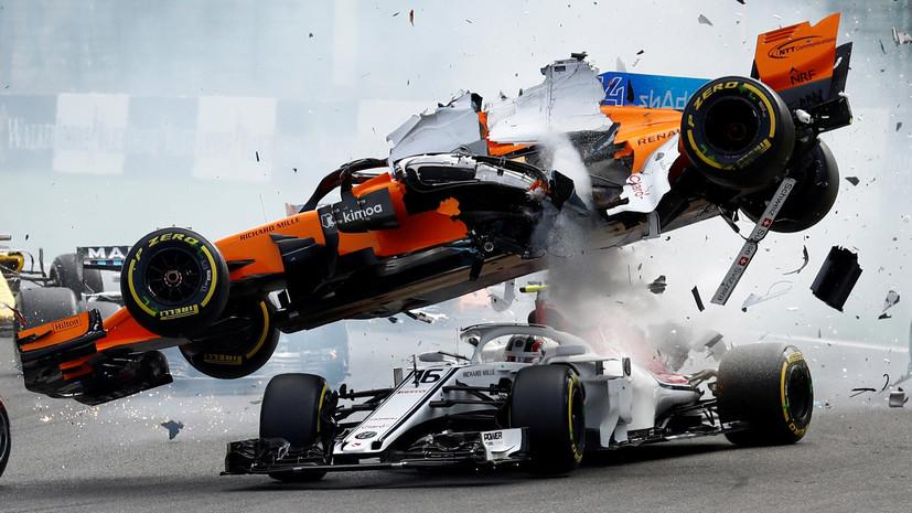 Авария на старте, победа Феттеля и лучшая гонка Сироткина: итоги Гран-при Бельгии в «Формуле-1»