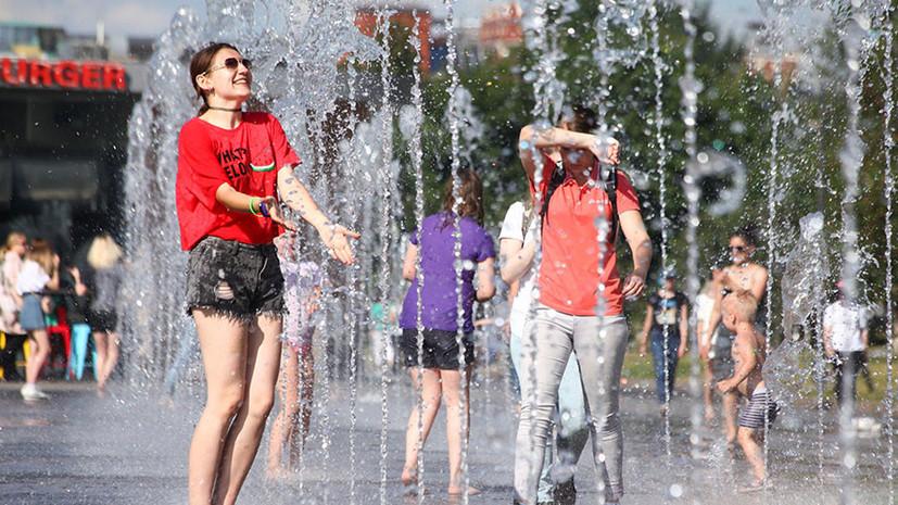 Тёплое прощание: какая погода ожидает жителей Москвы и области в последнюю неделю лета