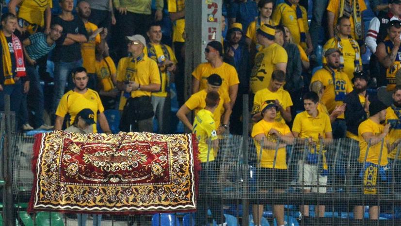 Мейтин объявил, что «Ростов» согласовал ковёр вкачестве баннера