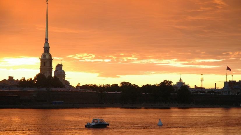 Петербург назвали самым популярным туристическим городом в России по итогам лета