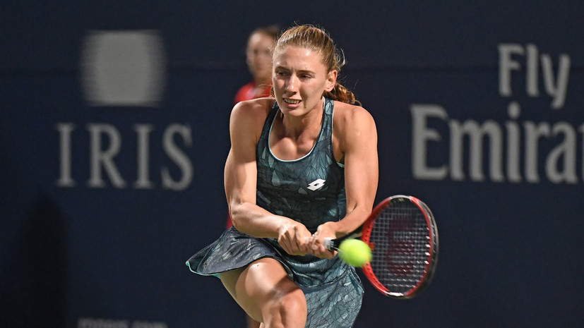 Александрова проиграла Шувэй в первом круге US Open