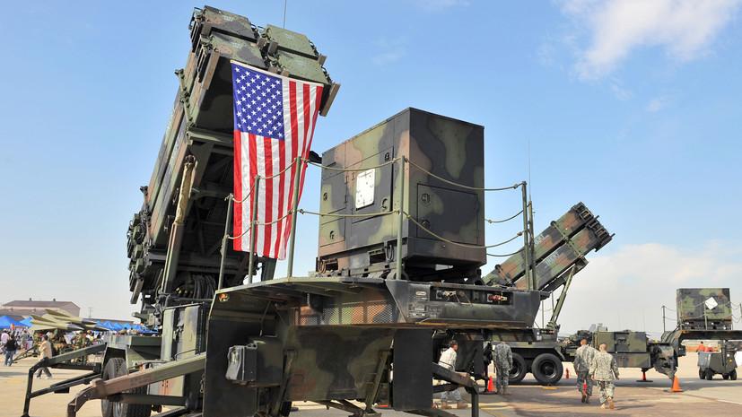 Зачем Пентагон готовится развернуть щит противоракетной обороны в Сирии