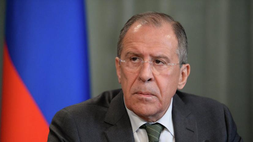 Лавров заявил, что США не удалось осуществить смену режима в Сирии