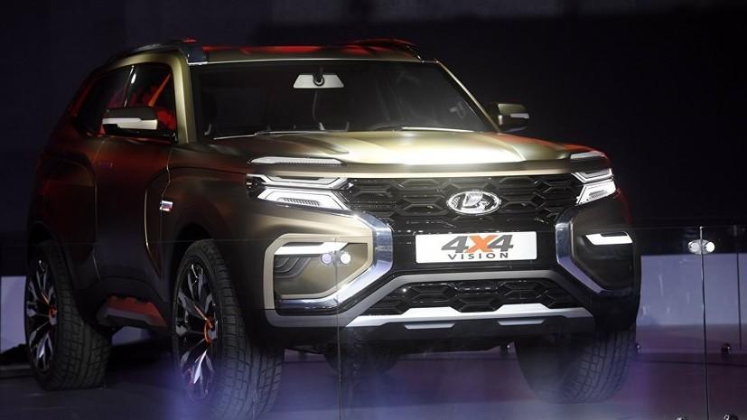 АвтоВАЗ представил концепт внедорожника Lada 4×4 Vision