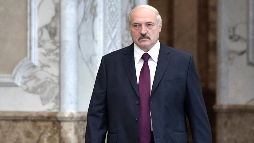 Лукашенко выразил соболезнования в связи со смертью супруга Валентины Матвиенко