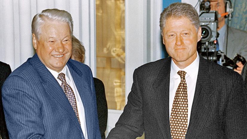 Песков прокомментировал публикацию в США расшифровки телефонного разговора Ельцина и Клинтона