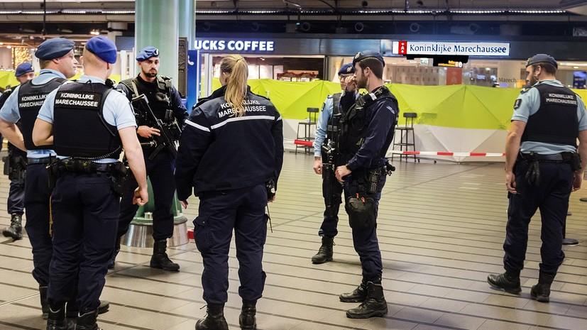 Нападение навокзале вАмстердаме: подозреваемый ранен