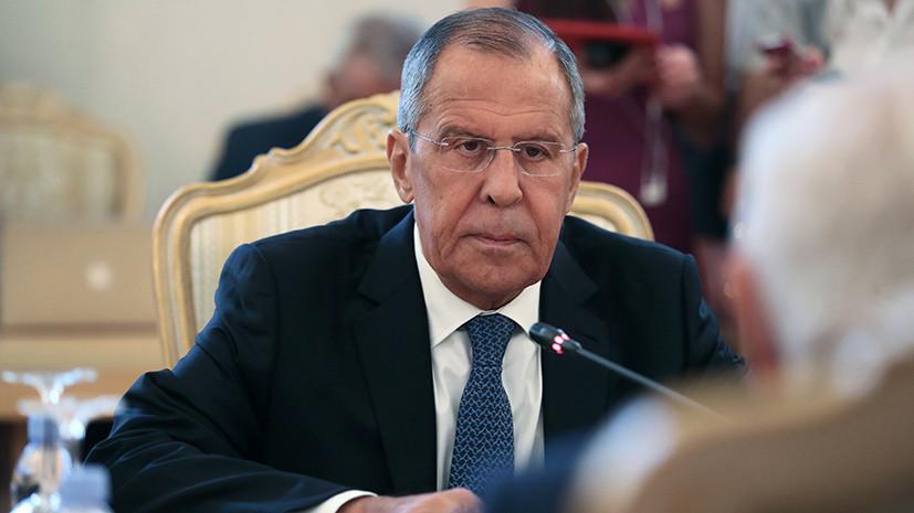 Лавров заявил, что у России нет сомнений в готовящихся провокациях в Идлибе