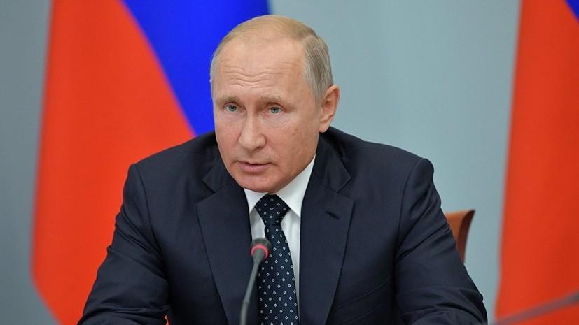 Путин назвал подлым убийство Захарченко