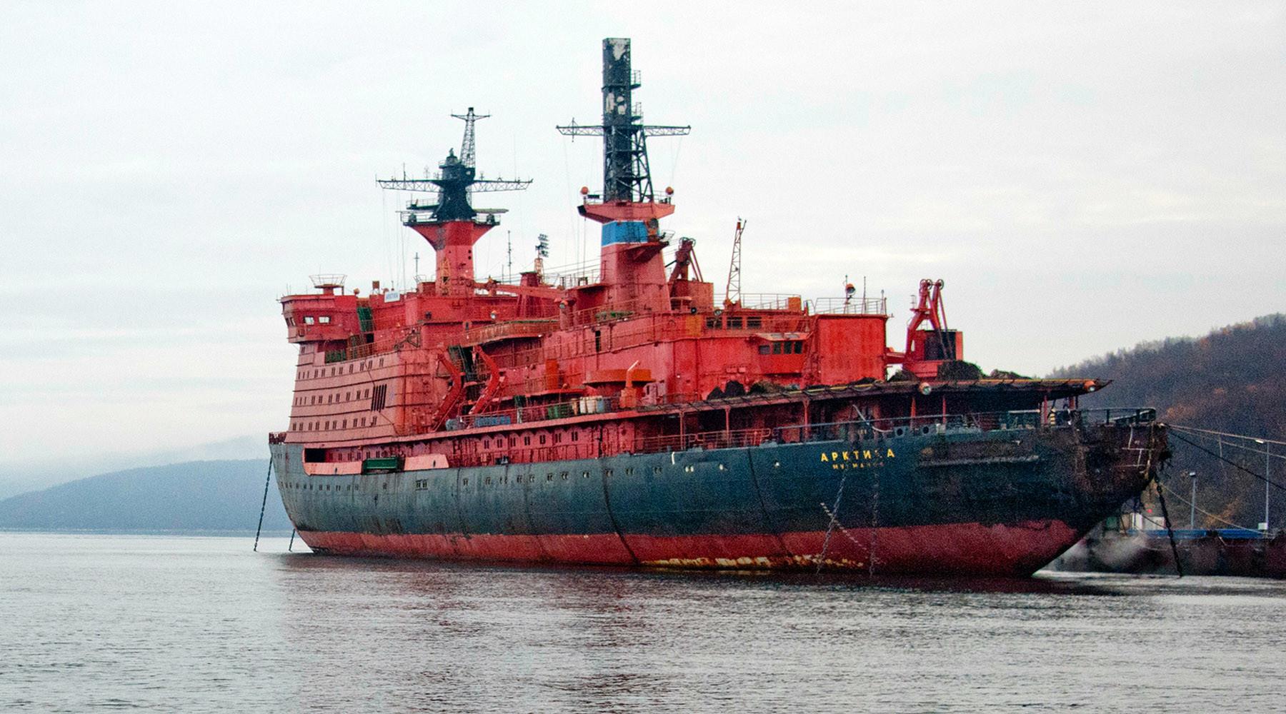 Ледокол арктика картинка