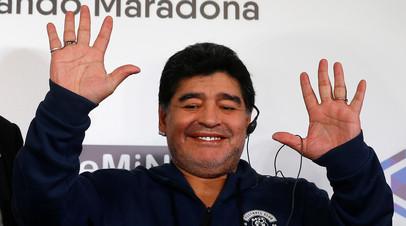 Марадона готов потратиться на трансферы брестского «Динамо»