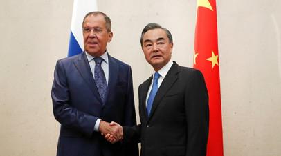 Главы МИД России и Китая обсудили ситуацию на Корейском полуострове