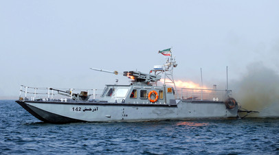 Ракетный катер ВМС Ирана проекта C14 © ALI MOHAMMADI / IIPA