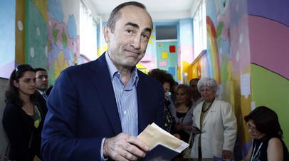 Бывший президент Армении отказался давать показания