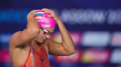 Пловчиха Ефимова прокомментировала победу на ЧЕ по летним видам спорта