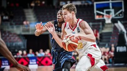 Юниорская сборная России стала четвёртой на чемпионате Европы по баскетболу