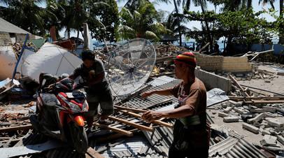 Путин выразил соболезнования президенту Индонезии по поводу гибели людей при землетрясении