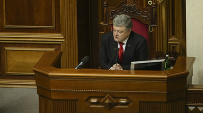 Порошенко инициирует заседание СНБО из-за опасений вмешательства в выборы