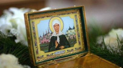 Ковчег с частицей мощей блаженной Матроны Московской доставят в Крым 11 августа