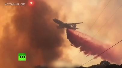 Человек против стихии: американские спасатели борются с пожарами в Северной Калифорнии