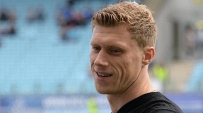 Футболист Погребняк назвал сроки своего восстановления после травмы