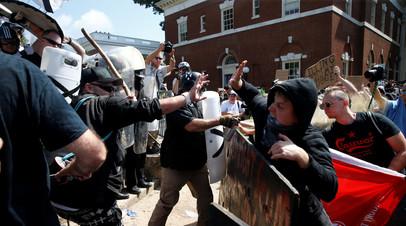 Столкновения в Шарлотсвилле (США), август 2017 г.