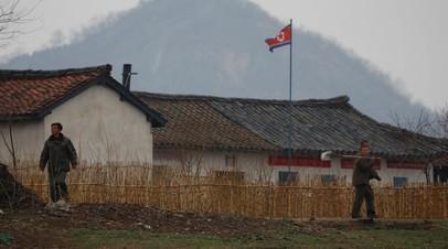 Северокорейские крестьяне