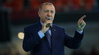 Эрдоган заявил о планах Турции вести торговлю с Россией в нацвалютах