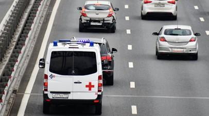 В Подмосковье в ДТП с маршруткой пострадали четыре человека
